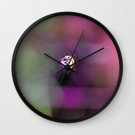 Space Om Wall Clock
