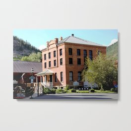 Silverton Mining Museum and Old Jail Metal Print