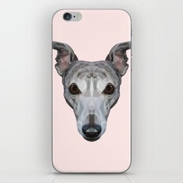 Whippet // Pastel Pink iPhone Skin