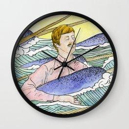 Narwhal Dreams Wall Clock
