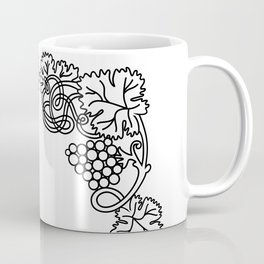 Abstract floral frame Coffee Mug