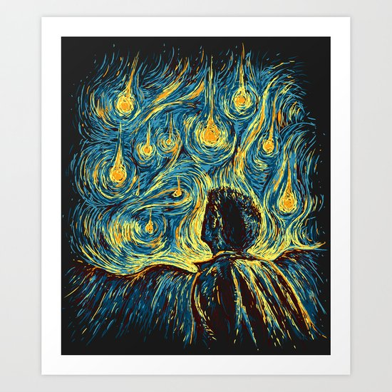 Angels, They're Falling Art Print