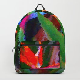 Bird of Paradise Family Abstract Backpack