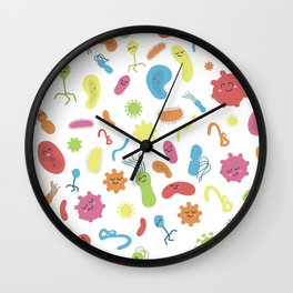 Cooties! Wall Clock