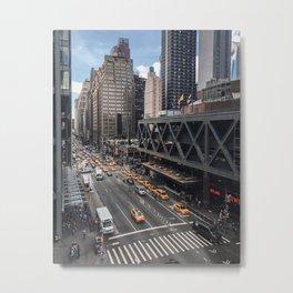 42nd Street Afternoon Metal Print