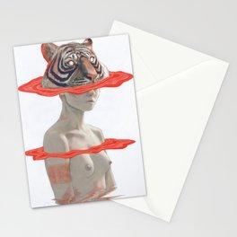 TIGER GIRL Stationery Cards