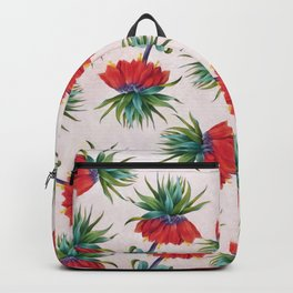 Crown imperial flowers Backpack