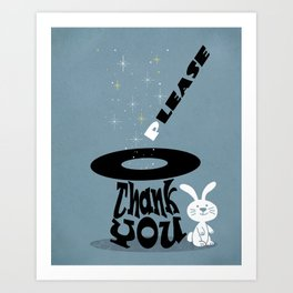 Magic Words Art Print