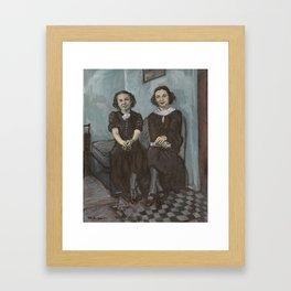 The Sisters Framed Art Print