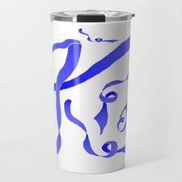 Blue Ribbon Travel Mug
