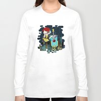transistor Long Sleeve T-shirts featuring Transistor Welcome to Cloudbank by Cycha