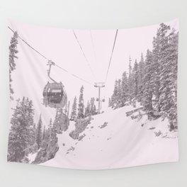 Ski lift Wall Tapestry