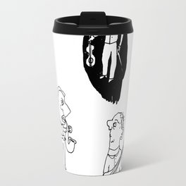 musicians before the concert Travel Mug