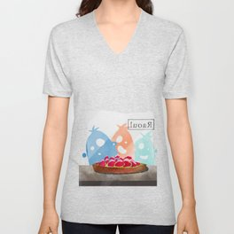 wild creatures and the Raoul tarte Unisex V-Neck