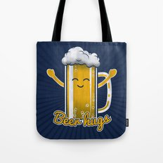 Beer Hugs Tote Bag