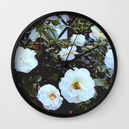 Flower Photography by Irina Grotkjaer Wall Clock