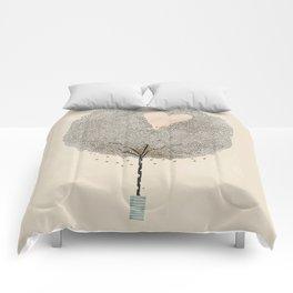 how love grows Comforters