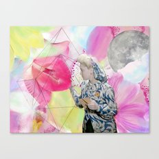 FLOWERS OR LOVERS Canvas Print
