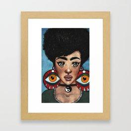 Afro Karma Framed Art Print
