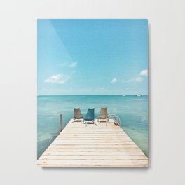 Somewhere in Belize Metal Print