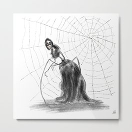 Coraline The Other Mother Metal Print