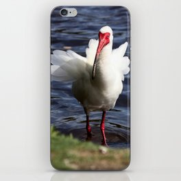White Bird iPhone Skin