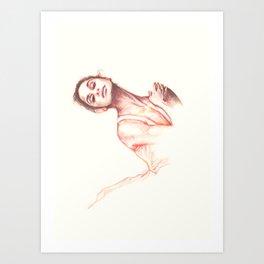 Misty, The Dancer Art Print