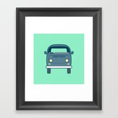 #52 Volkswagen Type 2 Bus Framed Art Print