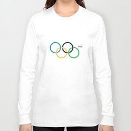 Olympic Games Rings Long Sleeve T-shirt