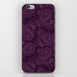 Meredith Paisley - Purple iPhone Skin