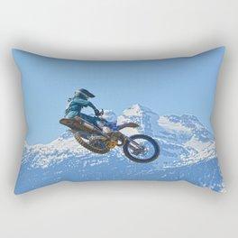 Revelstoke Ride - MotoX Racing in British Columbia Rectangular Pillow