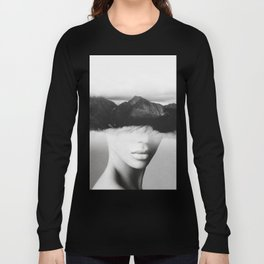 silence of the mountain Long Sleeve T-shirt