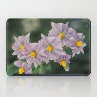 potato iPad Cases featuring Potato Flowers by taiche