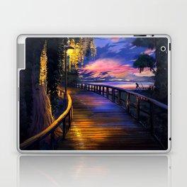 Seaside Sunset Laptop & iPad Skin