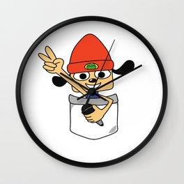 Pocket PaRappa! Wall Clock