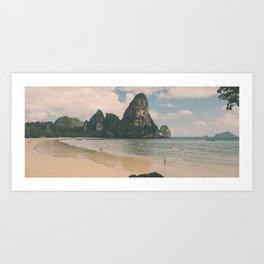 Railay Art Print