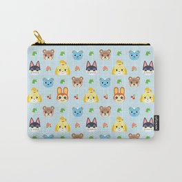Animal Crossing - Blue Carry-All Pouch