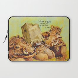 ugly warthog Laptop Sleeve