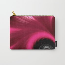 Vibrant Pink Fan Carry-All Pouch
