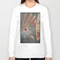 law Long Sleeve T-shirts featuring GUN LAW by LIGGYZIGHAT