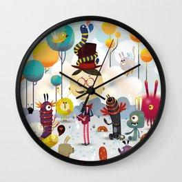 Monsterland / monster Wall Clock