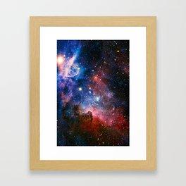 Carnia Nebula Framed Art Print