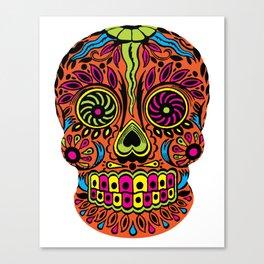 Calavera - Sugar Skull - Calexico Canvas Print