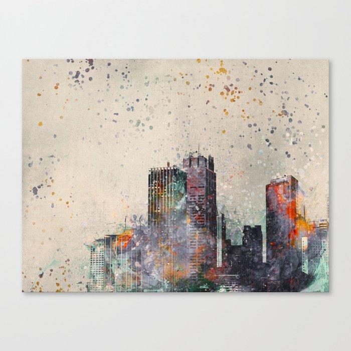 Crazy City Canvas Print