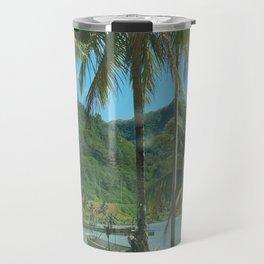 tahitian phone booth Travel Mug