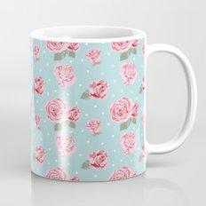 Modern Vintage Elegant Rose Mug