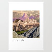 Absolute Zero Art Print