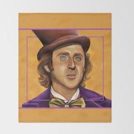 The Wilder Wonka Throw Blanket