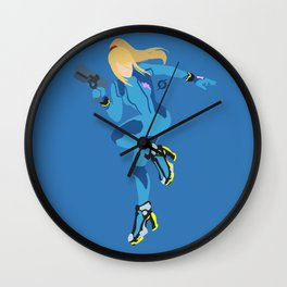 Zero Suit Samus(Smash) Wall Clock