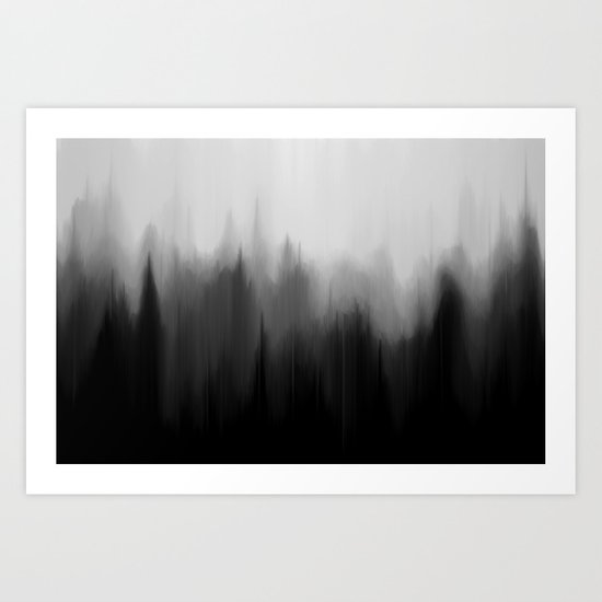 Fog Dream Art Print